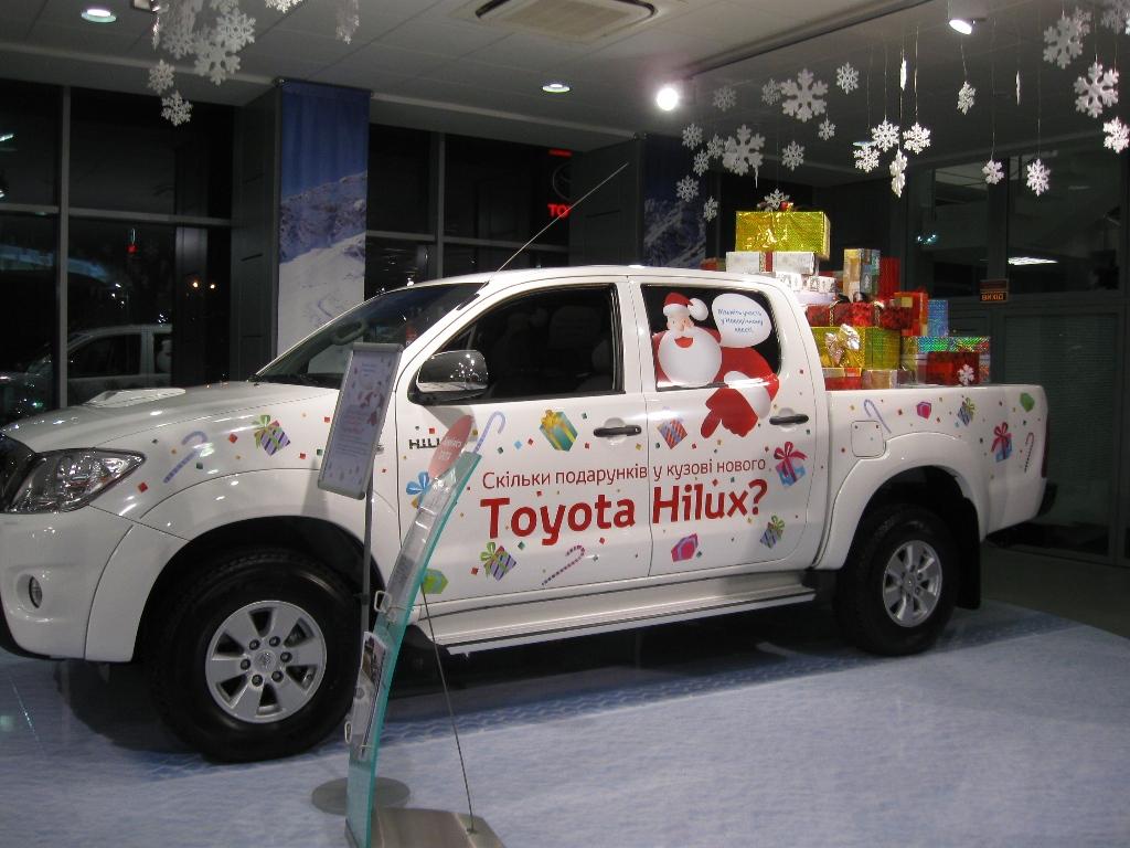 Рекламно-информационная оклейка автомобилей