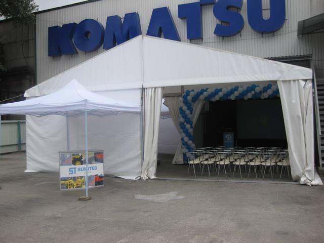 Организация мероприятия ''День открытых дверей'' в г. Комсомольск, ДП ''Сумитек Украина''