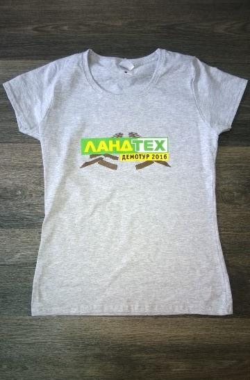 Брендирование сувенирных футболок