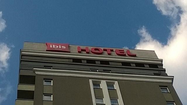 Комплексное оформление вывесками, Hotel Ibis Киев Центр