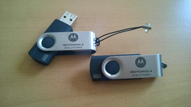 Flash drives with logo
