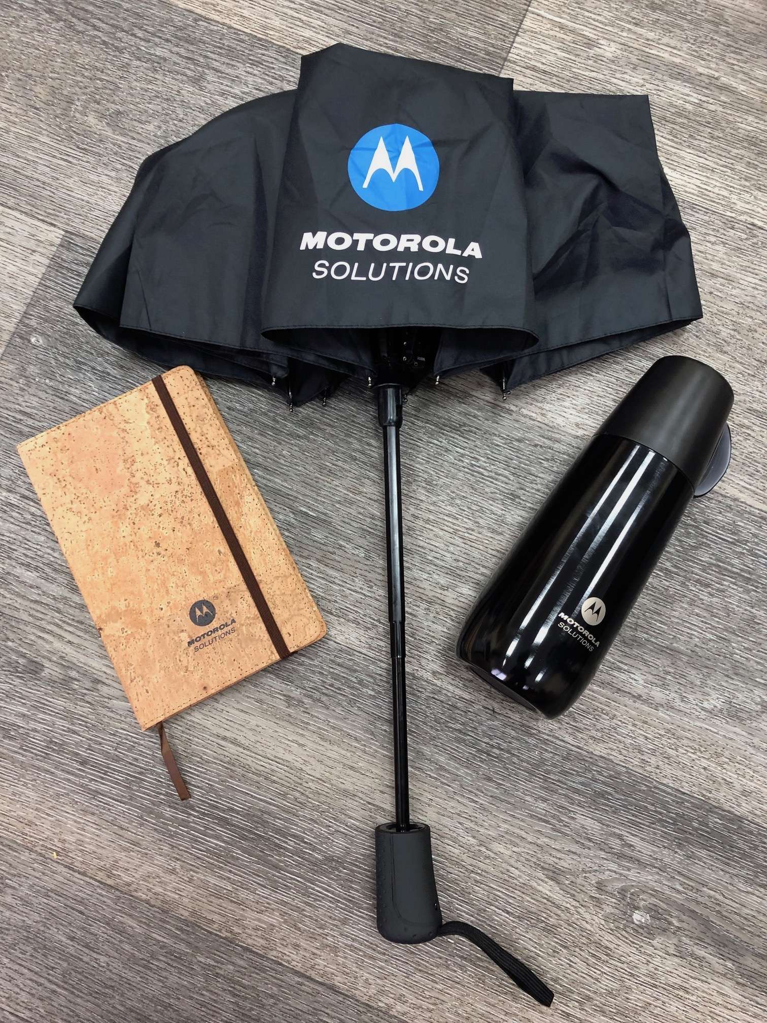 Corporate gifts and printing services for Motorola Solutions