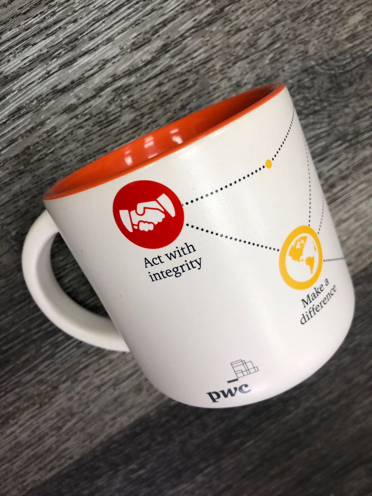 Branded cups (any pictures, graphics, logos)