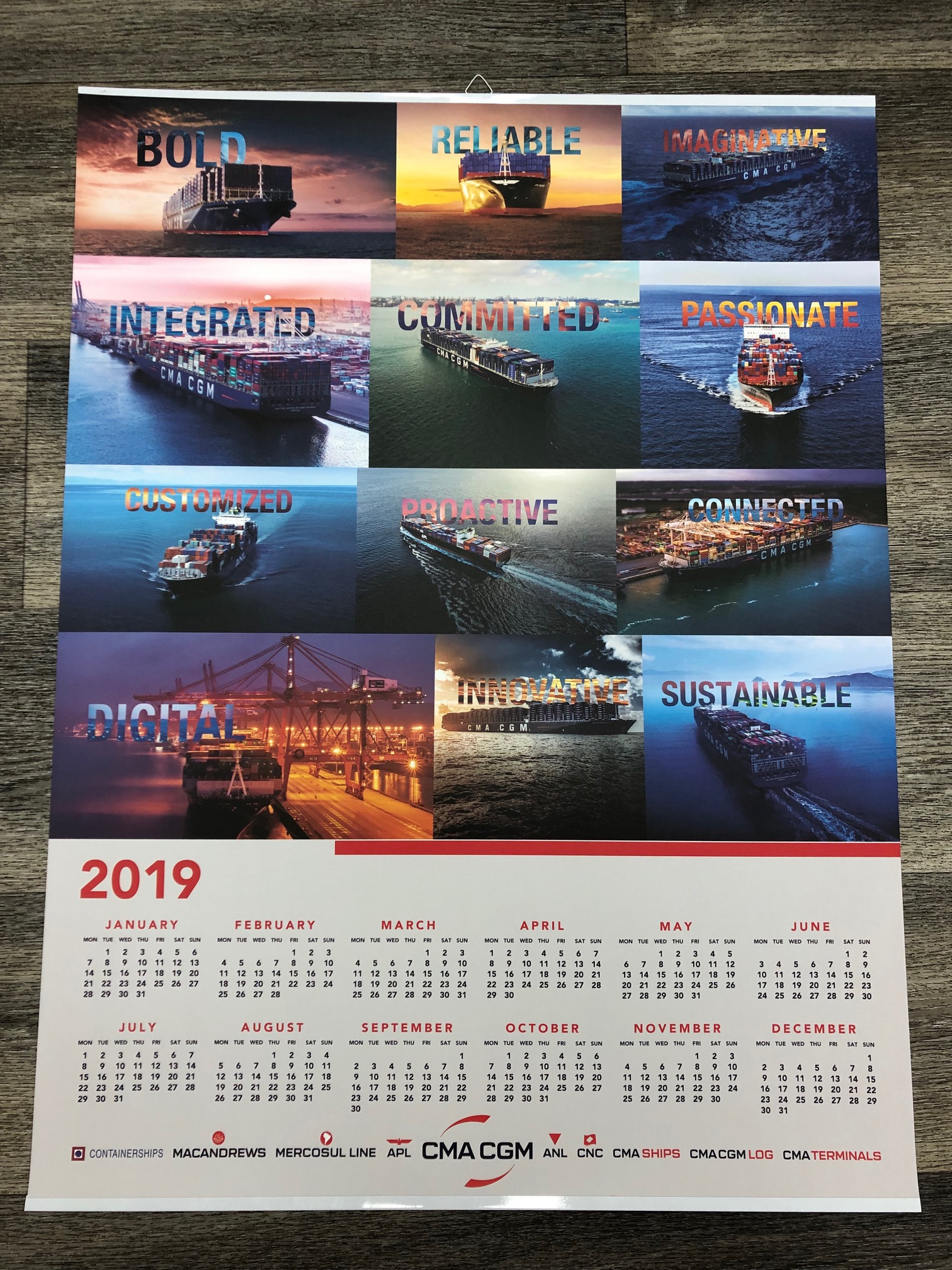 Calendars (any form and size)