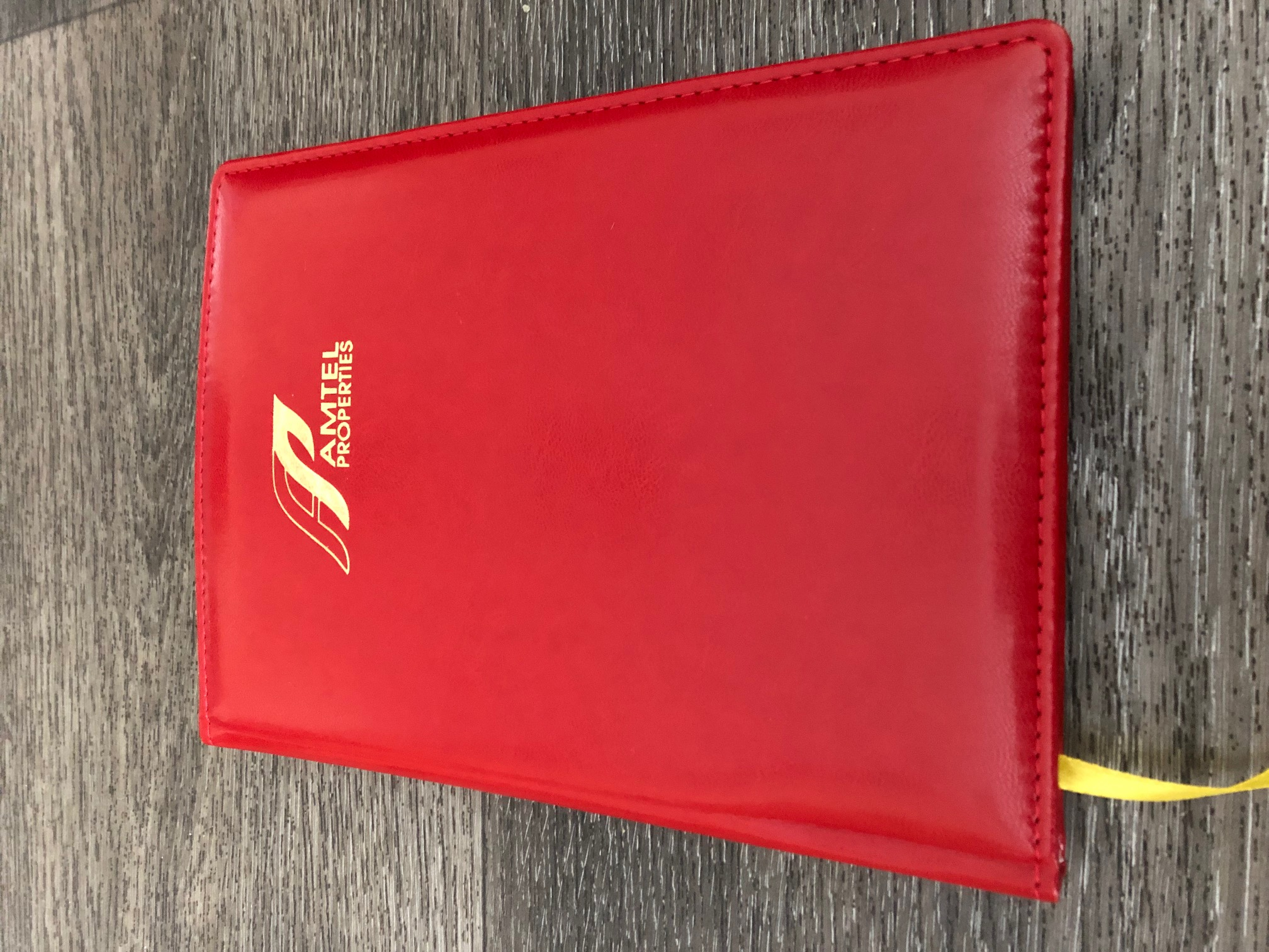 Corporate diaries with logo on cover & pages